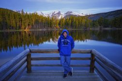 Kyle At Sprague Lake