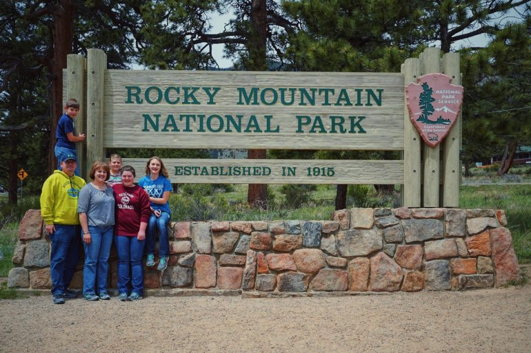 Fuhrman Family At Rocky Mountain National Park