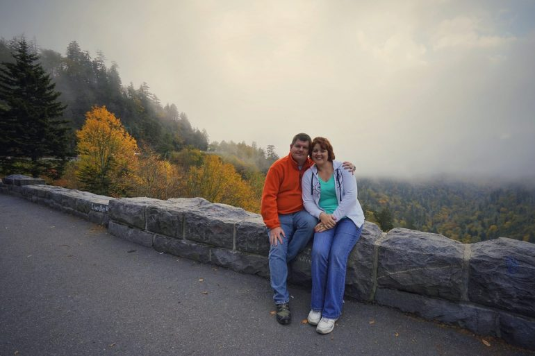 Aaron And Amy Fuhrman At Great Smoky Mountains National Park