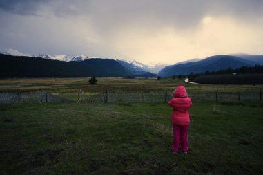 Ella Photographing Moraine Park
